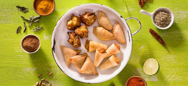 Gourmet Indian Appetizers and Entrees