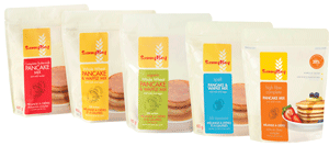 Hot Cereal, Pancake & Waffle Mixes and Organic Flours
