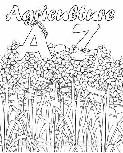 Agriculture A - Z - a Colouring Book