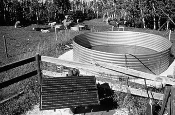 Figure 8. Solar-powered well system